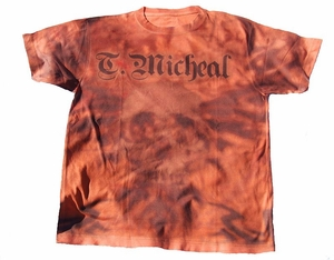 T. Micheal Skull Tee- # SW103C- Factory Direct