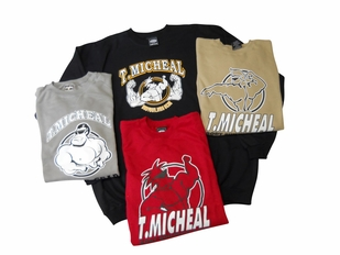 T. Micheal Three-Pack Printed Big Tops # 700 B- Factory Direct