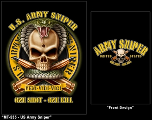 US Army Sniper T-Shirt- Style 80310