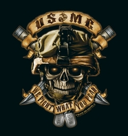 "USMC ""We Fight What You Fear"" T-Shirt- Style 80420"
