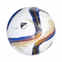 adidas MLS Glider Soccer Ball - White/Blue