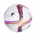 adidas MLS Glider Soccer Ball - White/Flash Pink