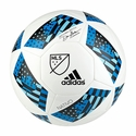 adidas 2016 MLS Glider Soccer Ball - White/Blue