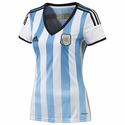 adidas Women's 2014 World Cup Argentina Home Jersey