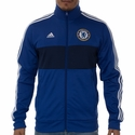 adidas Chelsea FC 3 Stripe Track Top - Chelsea Blue
