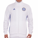 adidas Chelsea FC 3 Stripe Track Top - White