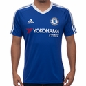 adidas Chelsea FC Home Fan T-Shirt - Chelsea Blue