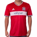 adidas Chicago Fire 2017/2018 Authentic Home Jersey