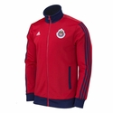 adidas Chivas Men's Track Top - Red