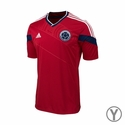 adidas Colombia 2014 World Cup Youth Away Jersey