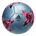 adidas Confederations Cup Glider Soccer Ball - Blue/Pink