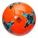 adidas Confederations Cup Glider Soccer Ball - Solar Orange/Blue