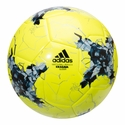 adidas Confederations Cup Glider Soccer Ball - Solar Yellow/Grey
