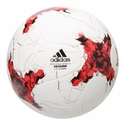 adidas Confederations Cup Replica Soccer Ball - White/Red