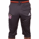 adidas FC Bayern Munich 3/4 Training Pants - Gray