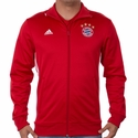 adidas FC Bayern Munich 3 Stripe Track Top - FCB True Red
