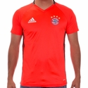 adidas FC Bayern Munich Training Jersey - Solar Red