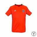 adidas FC Bayern Munich Youth Training Jersey - Solar Red
