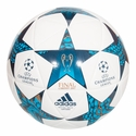 adidas Finale Capitano Soccer Ball - White/Blue