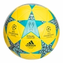adidas Finale Capitano Soccer Ball - Yellow/Aqua