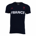 adidas France Euro 2016 Tee - Collegiate Navy