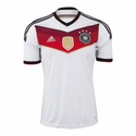 adidas Germany 2014/2015 4 Stars Jersey - Home