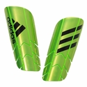 adidas Ghost Pro Soccer Shinguards - Green/Black