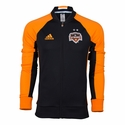 adidas Houston Dynamo Anthem Jacket - Black