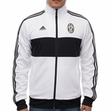 adidas Juventus 3 Stripe Track Top - White/Black