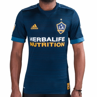 adidas LA Galaxy 2017/2018 Authentic Away Jersey - Click to enlarge
