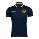 adidas LA Galaxy SS Polo - Navy Blue