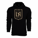 adidas Los Angeles FC Badge Hoody - Black