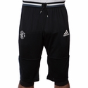 adidas Manchester United 3/4 Training Pants -  Black