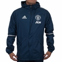 adidas Manchester United All Weather Jacket - Mineral Blue