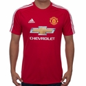 adidas Manchester United Fan T-Shirt - Real Red
