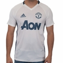 adidas Manchester United Training Jersey - White