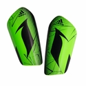 adidas Messi 10 Lesto Shinguards - Solar Lime/Black