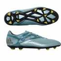adidas Messi 15.1 FG/AG Soccer Cleats - Ice