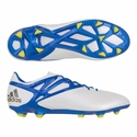 adidas Messi 15.1 FG/AG Soccer Cleats - Running White
