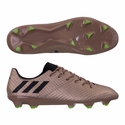 adidas Messi 16.1 FG Soccer Cleats - Copper