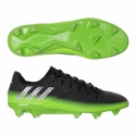 adidas Messi 16.1 FG Soccer Cleats - Dark Grey/Metallic Silver