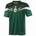adidas Mexico 2014 World Cup Home Jersey