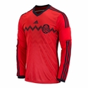 adidas Mexico 2014 World Cup LS Away Jersey