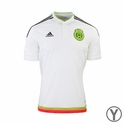 adidas Mexico 2015 Youth Away Jersey