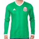 adidas Mexico 2016 LS Home Jersey