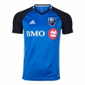 adidas Montreal Impact SS Training Top - Light Blue