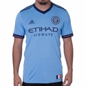 adidas New York City FC 2017/2018 Authentic Home Jersey