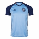 adidas New York City FC SS Training Top - Light Blue