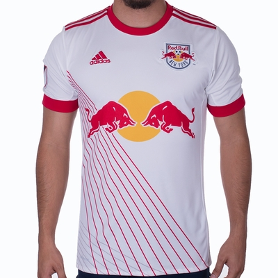 adidas New York Red Bulls 2017/2018 Home Jersey - Click to enlarge