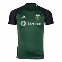 adidas Portland Timbers SS Training Top - Green